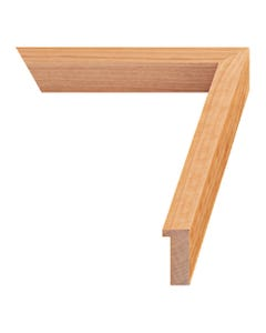 Natural Cherry Wood Picture Frame