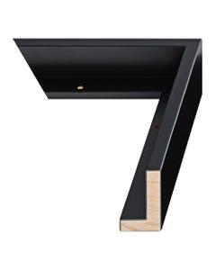 Matte Black Canvas Float Frame