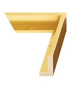 Gold Canvas Float Frame