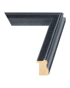 Matte Black Wood Picture Frame