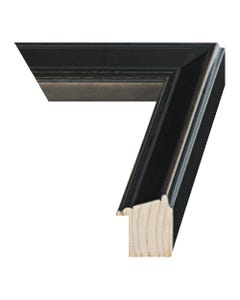 Oiled Bronze Wood Picture Frame