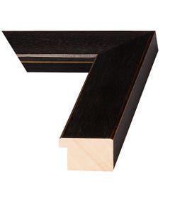 Black Brown Wood Picture Frame