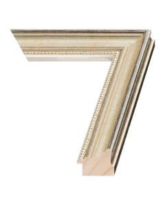 Tarnished Silver Wood Picture Frame