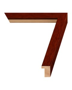 Cherry Wood Picture Frame