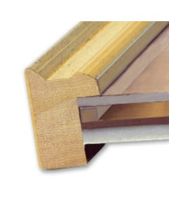 """EconoSpace Clear Picture Frame Spacer (1/8"""" x 2')"""