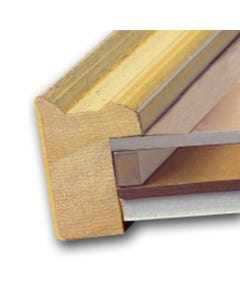 """EconoSpace Clear Picture Frame Spacer (1/4"""" x 2')"""