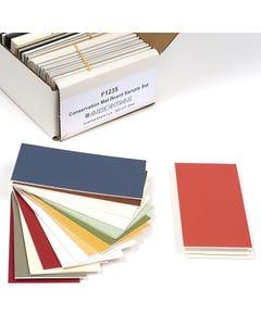 Conservation Mat Board Sample Set
