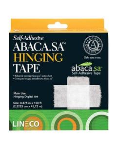 Abaca Self-Adhesive Hinge Tape