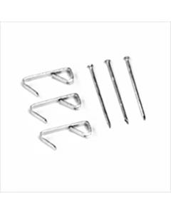 Picture Hanging Hooks - 30 lb. Capacity
