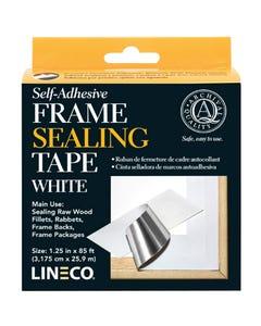 Self-Adhesive White Frame Sealing Tape