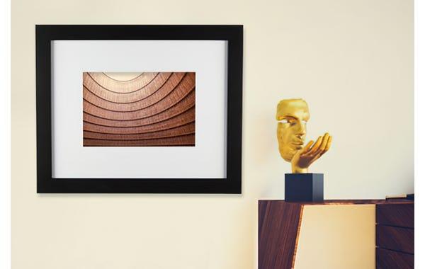 Black Wood Picture Frame (JustAddArt™ Collection)