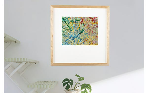 Maple Wood Picture Frame (JustAddArt™ Collection)