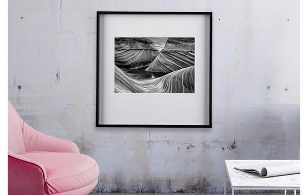 Black Metal Picture Frame (JustAddArt™ Collection)