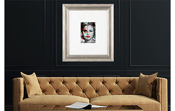 Silver Wood Picture Frame (JustAddArt™ Collection)