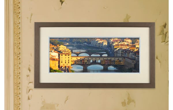Tarnished Gold Wood Picture Frame (JustAddArt™ Collection)
