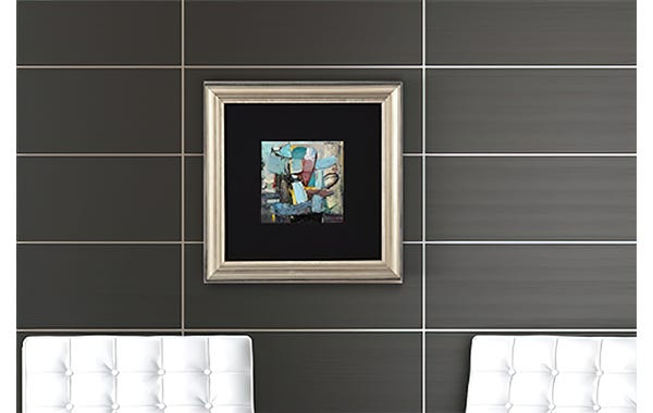 Tarnished Silver Wood Picture Frame (JustAddArt™ Collection)