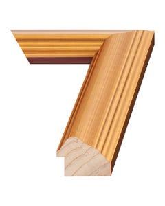 Gold Leaf Wood Picture Frame