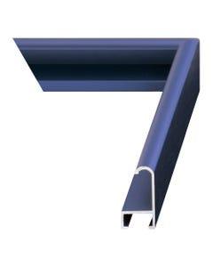 Cobalt Blue Metal Picture Frame