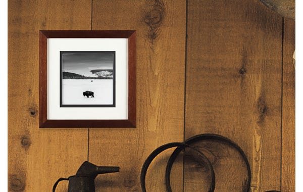 Walnut Wood Picture Frame (JustAddArt™ Collection)