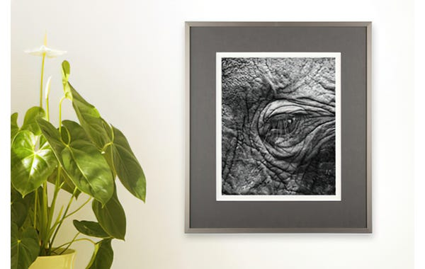 German Silver Metal Picture Frame (JustAddArt™ Collection)