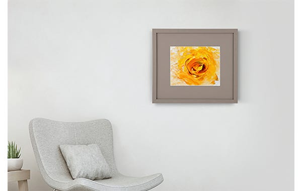 Grey Wood Picture Frame (JustAddArt™ Collection)