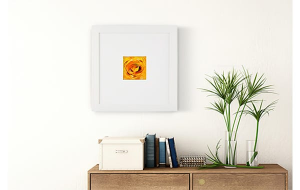 White Wood Picture Frame (JustAddArt™ Collection)